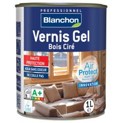 Vernis Gel Bois Ciré - Gris perle 1 L