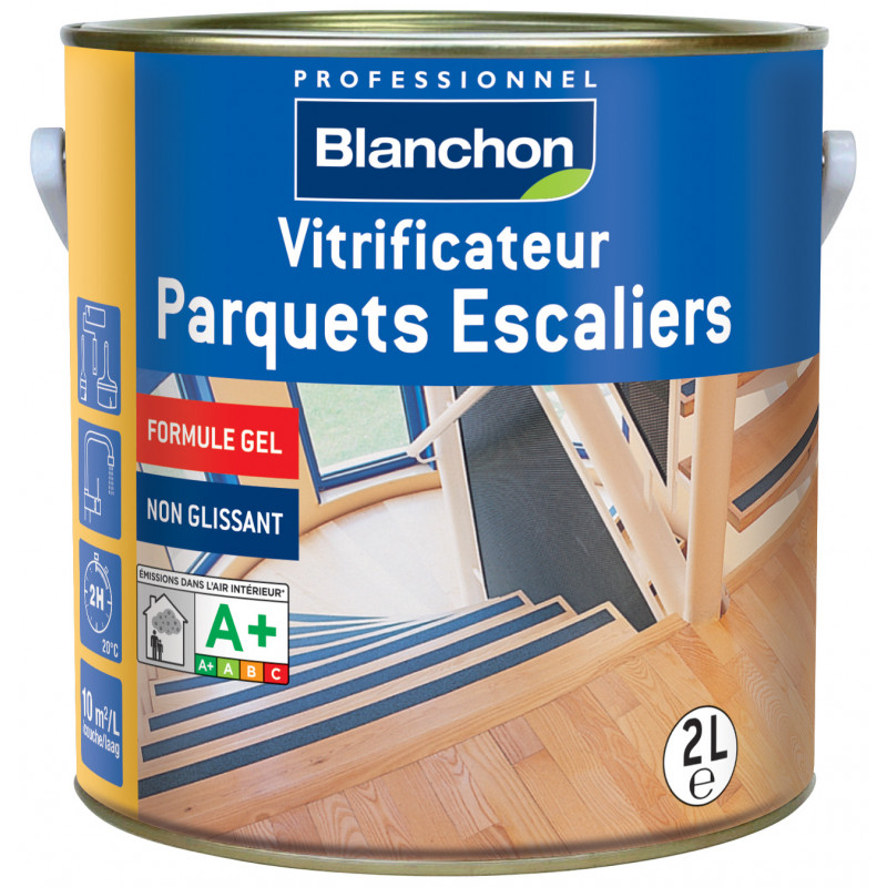 vitrificateur parquets escaliers blanchon satin 2 l manubricole. Black Bedroom Furniture Sets. Home Design Ideas