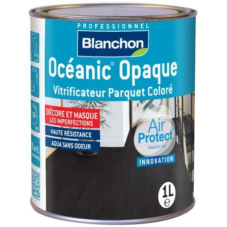 Vitrificateur OCÉANIC OPAQUE BLANC Pot de 1L