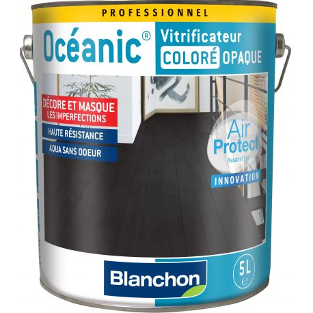 Vitrificateur OCÉANIC OPAQUE BLANC Pot de 5L