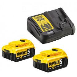 Pack 2 batteries XR 18V 2Ah Li-Ion