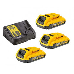 Pack 3 batteries XR 18V 5Ah Li-Ion