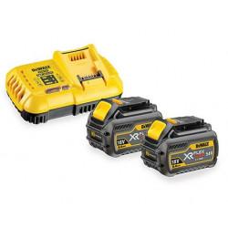 Pack 2 batteries XR FLEXVOLT 18V/54V 6Ah