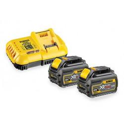 Pack 2 batteries XR FLEXVOLT 18V/54V 9Ah
