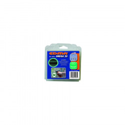 Agrafes OMEGA 20 plastifiées vert - 200 pièces