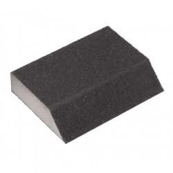 Eponge abrasive à angles grain 60