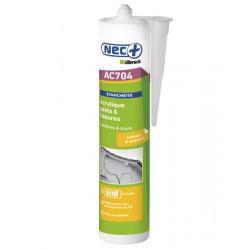 Mastic acrylique Gris - Cartouche de 310 ml