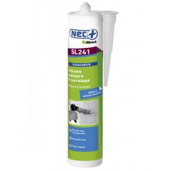 Silicone sanitaire et jardin translucide - 310 ml