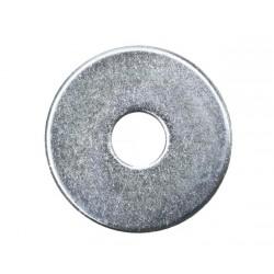Rondelle large zinguée - 6 X 30 - Boite de 50