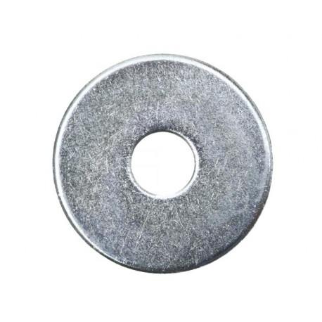 Rondelle large zinguée - 12 X 50 - Boite de 20