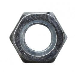 Ecrou zingué - M 6 - Boite de 50