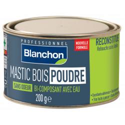 Mastic bois poudre - Bois exotique - 200 g