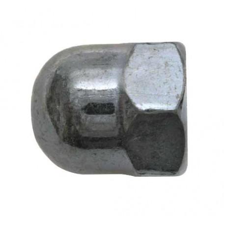 Ecrou borgne zingué - M 8 - Boite de 12