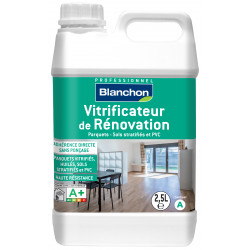 Vitrificateur de rénovation mat- 2.5L + durcisseur