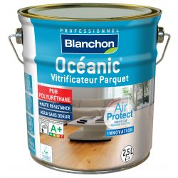 Vitrificateur parquet OCEANIC 2.5 litres - bois brut