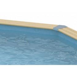 Liner 75/100ème Bleu 430 x H 120cm