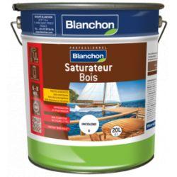 Saturateur bois Blanchon teinte IPE 20L + Pinceau offert