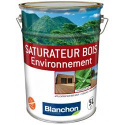Saturateur Bois Environnement Chêne Brûlé 5L - BLANCHON