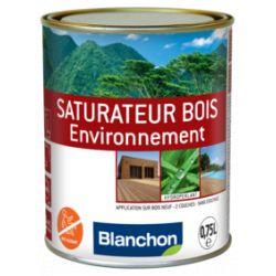 Saturateur bois environnement Chêne Brûlé 0,75L - BLANCHON