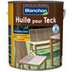 Huile pour teck - Bidon de 2.5L - Blanchon