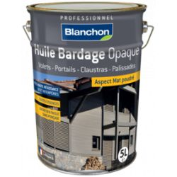 Huile Bardage - Anthracite - BLANCHON - 5 litres