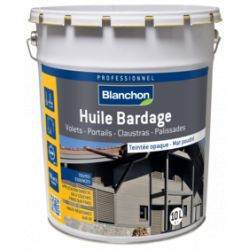Huile Bardage Anthracite BLANCHON 10L