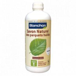 Savon naturel pour parquets huilés Blanc 1L