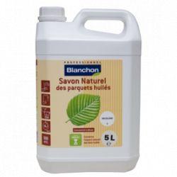 Savon naturel pour parquets huilés Blanc 5L