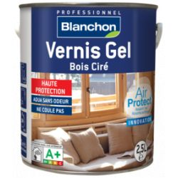 Vernis Gel Bois Ciré Chêne Foncé 2,5L