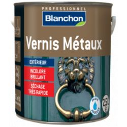 Vernis métaux Incolore Brillant Blanchon 2.5L
