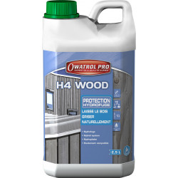 H4 Wood & Stone Protection bois hydrofuge 2.5L