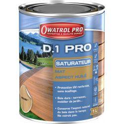 D1 PRO- spécial bois exotiques gris vieilli naturel - Boîte 1 L