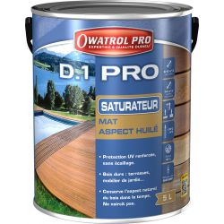 D1 PRO MIEL SATURATEUR BOIS TROPICAUX 5L DURIEU