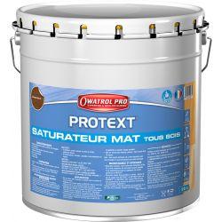 PROTEXT GRIS GRAPHITE saturateur 20L DURIEU + 1 pinceau OFFERT