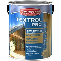 TEXTROL PRO - Saturateur Bois Tendres Gris Vieilli Naturel 5L DURIEU