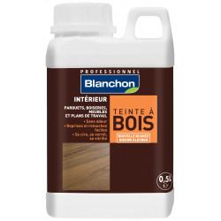 Teinte à bois Blanc - 0.5L