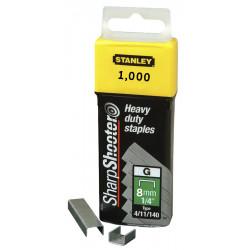 Agrafes STANLEY 8 mm - x5000