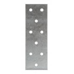 Plaqie perforée acier galvanisé - 40 x 120 - SIMPSON