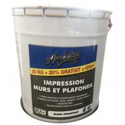 Peinture de finition mur et plafond mat - + 20L