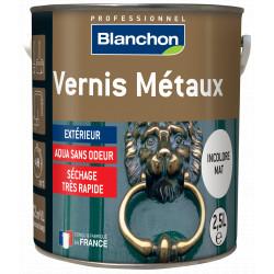 Vernis métaux Incolore Mat Blanchon 2.5L