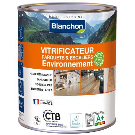Vitrificateur parquet environnement 1L Satiné