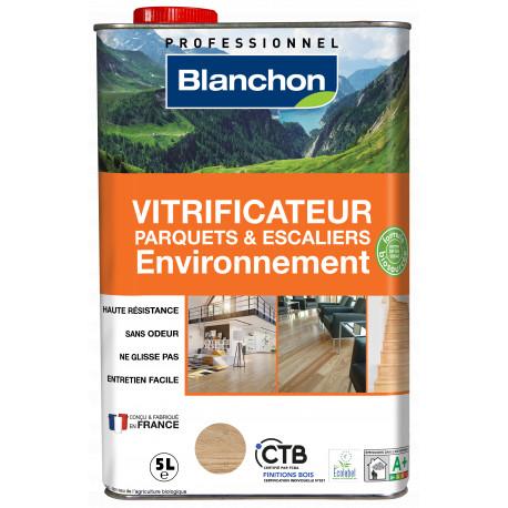 Vitrificateur parquet environnement 5L Satiné