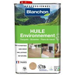Huile parquet environnement Bois brut - 5 litres