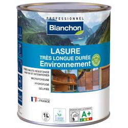 Lasure 1L Incolore très longue durée environnement - Blanchon