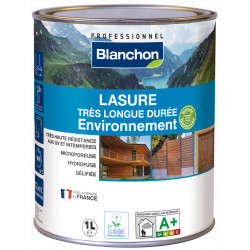 LASURE TRES LONGUE DUREE ENVIRONNEMENT Pot de 1 L - BLANC