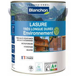 Lasure très longue durée chêne moyen environnement 2.5L - Blanchon