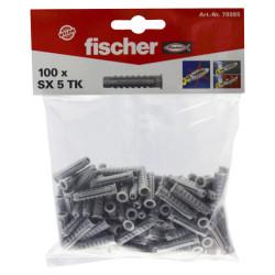 Sachet chevilles nylon SX 5 TK - 20 sachets/bte