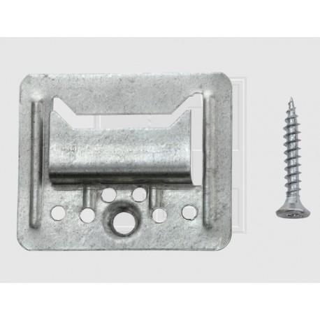 Clips fixation lambris bois 5 mm - Bte de 100 + vis