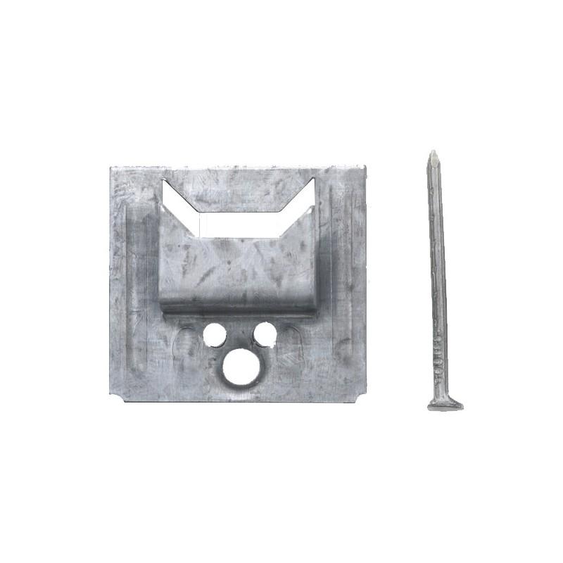 clip pour lambris bois 4 mm bte de 250 clous 1 6 x 25