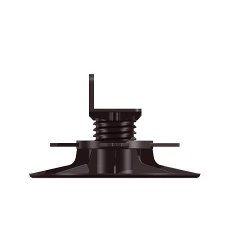 Plot réglable terrasse bois B50 de 55 à 75mm - Bugal